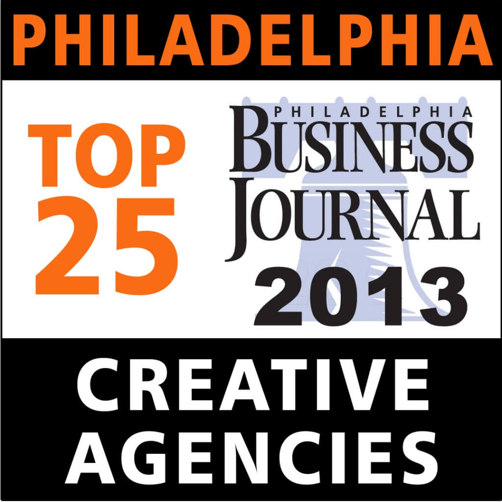 Manna Design Named as Top 25 Philadelphia Creative Agency for work with Web Design, Logo Deign, Creative Advertising Design