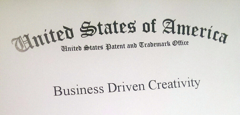 Business Driven Creativity – Official Trade Mark