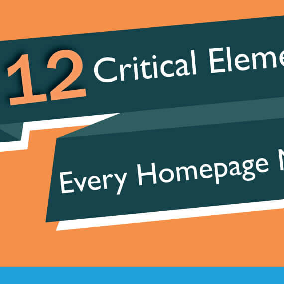 12 Must-Haves for Your Homepage